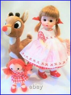Madame Alexander WENDY LOVES RUDOLPH THE RED-NOSED REINDEER 8 Doll Very Rare