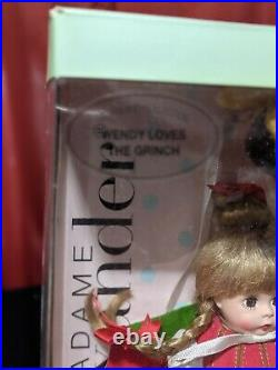 Madame Alexander WENDY LOVES THE GRINCH Dr. Seuss Christmas Doll Cindy Lou Who
