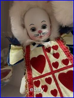 Madame Alexander White Rabbit 48130 Alice In Wonderland 2008