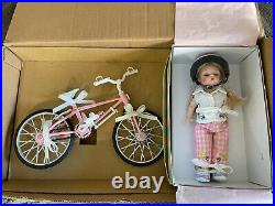 Madame Alexander doll Wendy with Bicycle