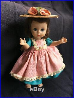 Madame Alexander-kins Brunette 1955'VISITOR'S DAY AT SCHOOL' Vintage Doll #450