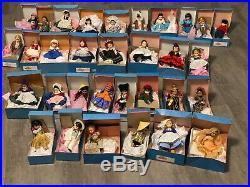 Madame Alexander lot, International and Scarlet dolls! Near perfect 8 doll