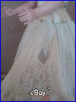 Madame Alexander vintage 1940s Nina ballerina Margaret face tagged ballet dress