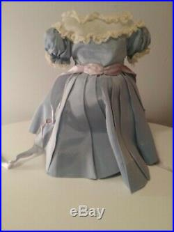 Madame Alexander vintage doll Polly Pigtails 1940s Maggie face 14 tagged dress