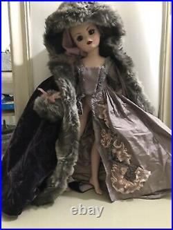 Madame alexander 21 Cissy Pompadour Winter Coat Dress And Muff