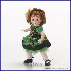 NEW in Box Madame Alexander IRISH DANCER Girl IRELAND Country Doll in Green