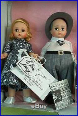 NIB Madame Alexander I Love Lucy 4 Doll Set FAO Schwarz LE Lucille Ball HTF