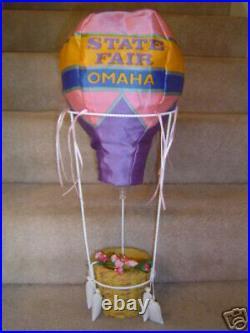 New in Box Madame Alexander Wizard of Oz 8 Doll State Fair Omaha Basket Balloon