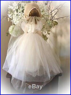 Nostalgic Madame Alexander Vintage Wendy Bride Doll withMargaret Face 18