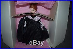Onyx Velvet & Lace Gala Gown & Coat 21'' Cissy Doll by Madame Alexander NRFB