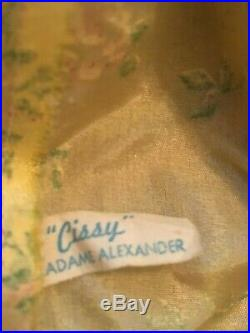 Original Tagged Madame Alexander Dress with Hat Necklace for Vintage Cissy Doll