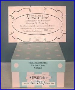 RARE Madame Alexander #64085 GLAMOUR GIRL PICNIC DAY L/E 110 MIB, NRFB