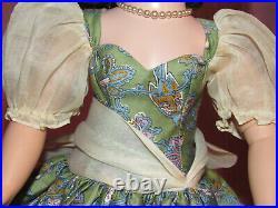 RARE Madame Alexander Cissy Doll Dress Olive Bird Print 1957 NO Doll