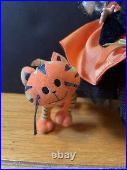 RARE Madame Alexander Doll Witchy Wendy And Her Quirky Cat 8 Halloween