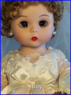 RARE Madame Alexander Wendys Fabulous Fifties Trunk Bride Doll #37925