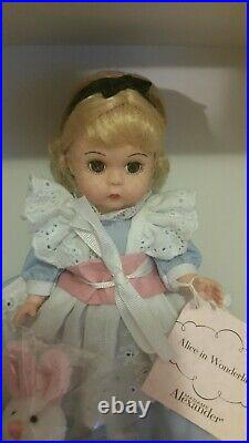 RL Madame Alexander NEW 8 Doll Alice in Wonderland 30665