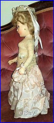 Rare 1938 Madame Alexander Portrait Godey All Original