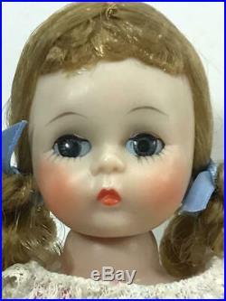 Rare 1956-57 Vintage 8 Madame Alexander Bkw Alexander-kins Wendy Doll