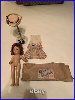 Rare! Closed Mouth All Original! Antique, Mme Aleax. Jane Withers Doll