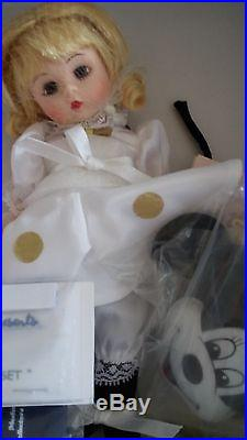 Rare Madame Alexander 8 Doll Set Mickey & Minnie Le 125 New 2005 Convention Mib