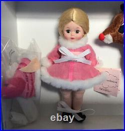 Rare Madame Alexander Bk Doll Rudolph The Red Nose Reindeer, 47715, 2007