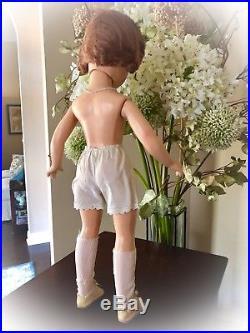 Rare Vintage Madame Alexander 21 Composition Wendy Bride Doll