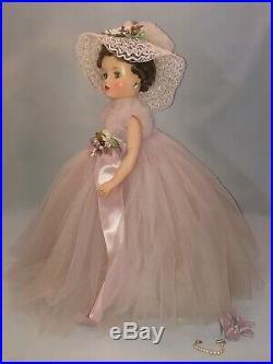 Rare Vintage c1959 MME Alexander ELISE 16.5 BRIDESMAID #1830 BC (Carol Film)