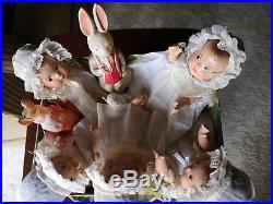 SALE Vintage Madame Alexander 7 1/2 composition Dionne Quint BABY DOLLS 1936