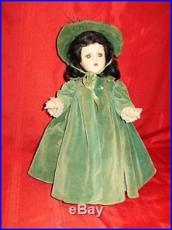 SCARLETT O'HARA Madame Alexander Composition Original (15) 1940's