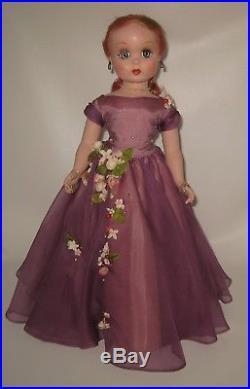 Stunning 1951 Mystery Portrait Arlene Dahl Maggie Face Doll Madame Alexander