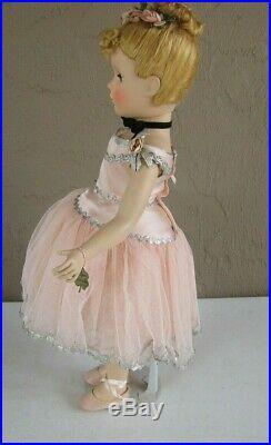 Stunning Museum Quality Nina Ballerina Margaret 21 Tall Madame Alexander HP