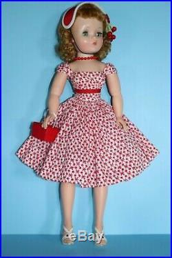 Stunning Vintage Madame Alexander Cissy Doll In Rare Tagged Jane Miller Dress