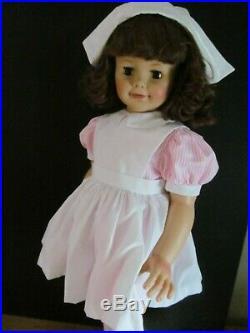 Super Madame Alexander Playpal Nurse-aid 34 Inch Gorgeous Mint Beauty
