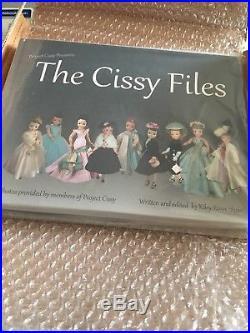 The Cissy Files book by Kiley Ruwe Shaw, NIB, Madame Alexander AUTOGRAPHED