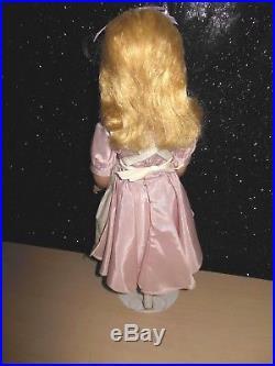 VINTAGE 1950s Madame Alexander 16 Alice in Wonderland Maggie face HARD PLASTIC