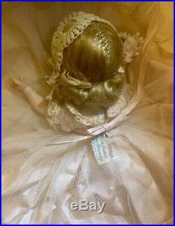 VINTAGE MADAME ALEXANDER QUIZ -kINS HTF FLOWER GIRL 1953 (RARE)