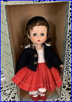 VINTAGE MADAME ALEXANDER-kINS 1953 SLNW TRIPLE STITCHED HAIR WITH BOX EX COND