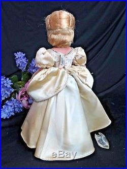 VINTAGE Madame ALEXANDER Cinderella & Prince Charming 14 TAGGED original 1950