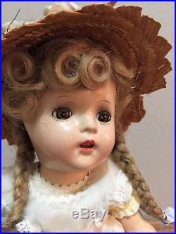 VINTAGE McGUFFEY ANA Madame Alexander 1937 13 ALL ORIGINAL