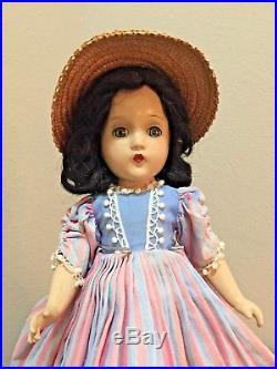 VINTAGE Scarlett O'Hara 1937 by Madame Alexander, Rare Dress