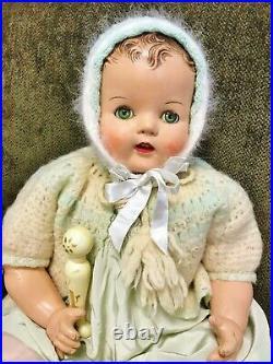 VTG 1937 Madame Alexander Princess Alexandria composition 26 baby doll Rare BIG