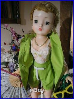 VTG Madame Alexander CISSY Doll TAGGED Lingerie, Shorts Suit Hat Bag Glasses 20