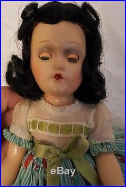 Vintage 1937-42 Madame Alexander Scarlett O'Hara 11 Compo Doll Gone With Wind