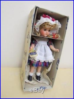 Vintage 1940s Compo Alexander 12 McGUFFEY ANA Doll ORIGINAL BOX Wrist Tag