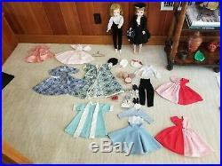 Vintage 1950's Madame Alexander 20 Cissy Doll 2x + Asst. Clothing + Accessories
