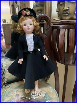 Vintage 1950's Madame Alexander 20 Cissy In 1957 Secretary Outfit