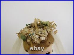 Vintage 1950s Alexander ELISE Bride Doll Tagged Dress 16