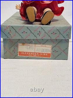 Vintage 1950s Madame Alexander Wendy Kins Doll #420 Auburn NICE With ORIG Box
