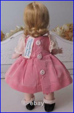 Vintage 1950s Madame Alexander Wendy-kins Doll Triple Stitch