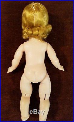 Vintage 1950s Madame Alexander- kins Doll on Roller Skates